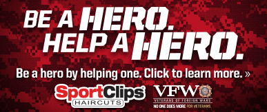Sport Clips Haircuts of Valparaiso​ Help a Hero Campaign